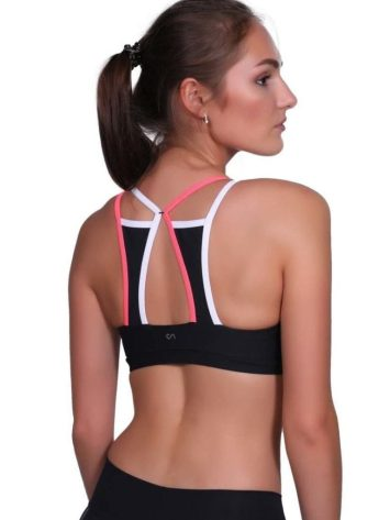 CANOAN Sports Bra TOP 07771 Black - Sexy Workout Tops