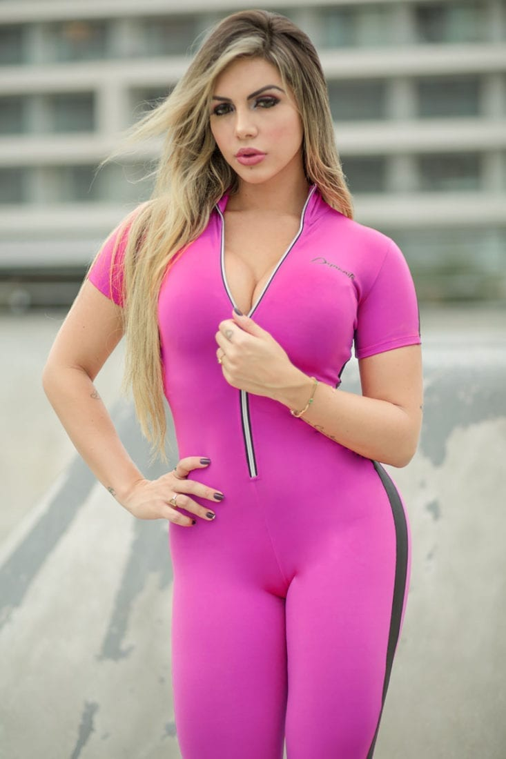 DYNAMITE Jumpsuit ML2095 Candy Fitness Overalls – One-Piece
