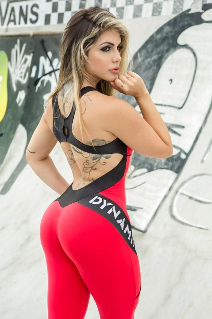 DYNAMITE Jumpsuit ML2018 Sunset Fitness Overalls – One-Piece