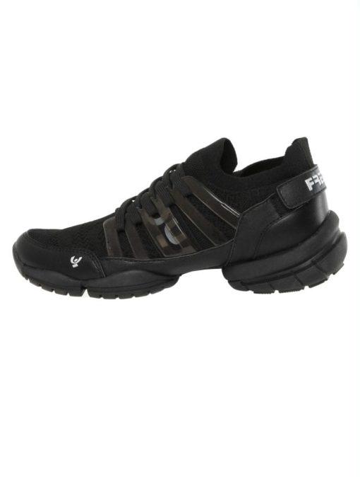 Freddy Fitness Footwear - 3Pro Studio Cage Sport Shoe with Triple Sole - Black