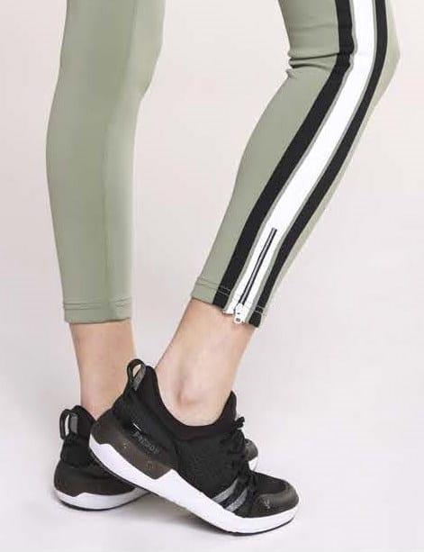 Freddy Fitness Footwear - Black/White Feline Skinair Active Breathability Sport Shoe
