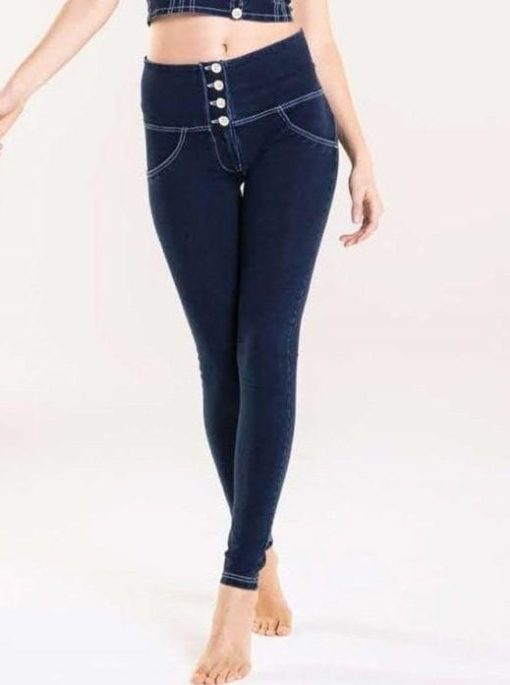 FREDDY WR.UP High-Rise Super Skinny Trousers WR.UP in Denim