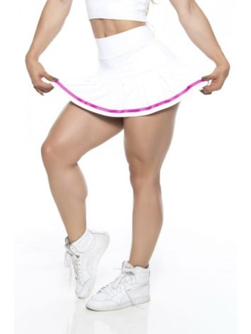 BFB Activewear Skort Juju Short Skirt – White