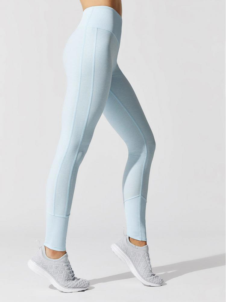 ALO Yoga High Waist Lounge Legging - Powder Blue Heather