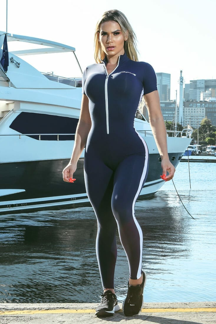 DYNAMITE Jumpsuit ML2095 Wabash Fitness Overalls – One-Piece
