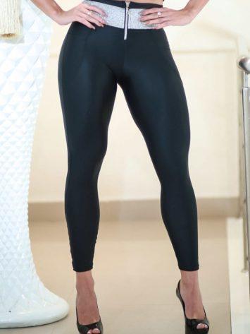 DYNAMITE BRAZIL Leggings Juhla L903 w/zip – Black
