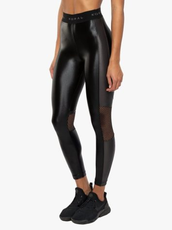 Emblem Infinity High Rise Legging Mesh – Black Lead