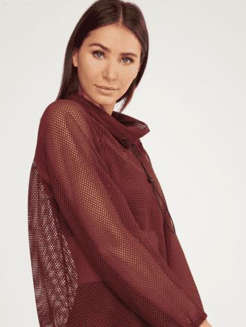Koral Probe Open Mesh Pullover – Barolo